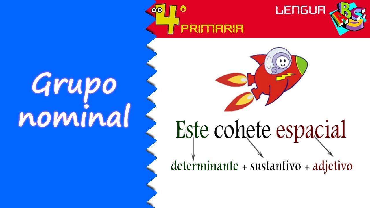 Lengua Castellana. 4º Primaria. Tema 3. El grupo nominal