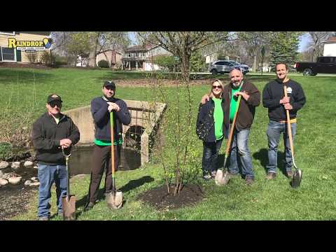 Arbor Day 2019 RainDrop Gutter Guard