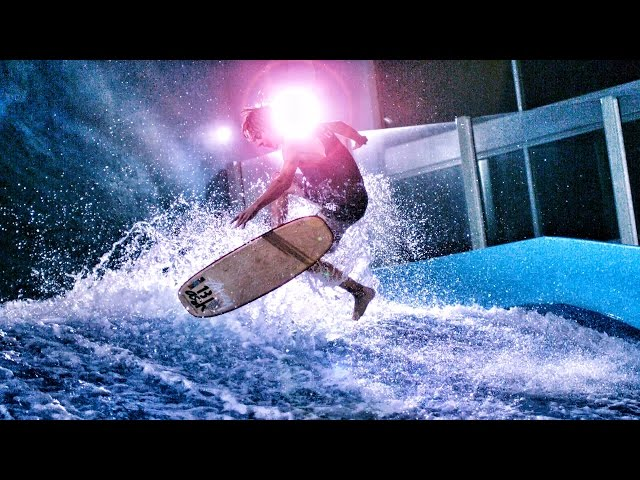 Surfing Indoors! Flow Riding in 4K! | DEVINSUPERTRAMP