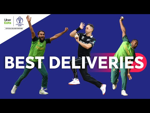 UberEats Best Deliveries of the Day   New Zealand vs South Africa   ICC Cricket World Cup 2019