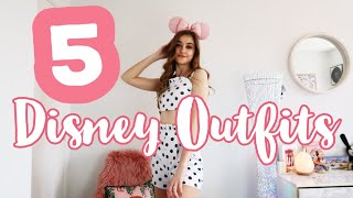 5 DISNEY OUTFITS | Ideas For The Parks & At Home | Georgia Goodley