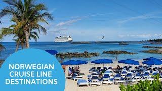 Norwegian Cruise Line Destinations - Dream Vacations