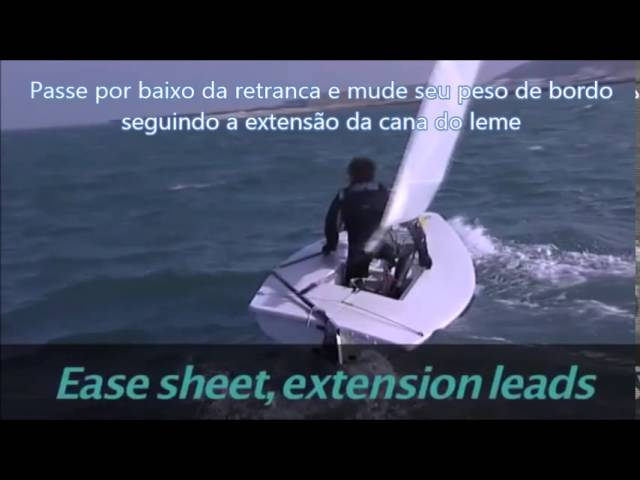 RYA Laser Top Sailing Tips  - Cambando [Legendado, Português]