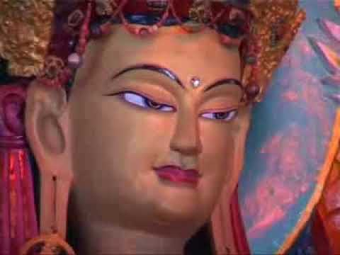 Визит Далай Ламы в монастырь Менри   2007 год (фрагмент)