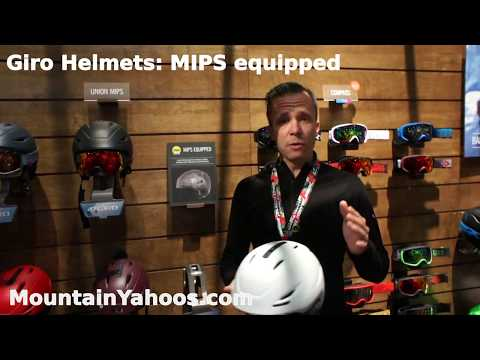 Giro Ski Helmets: Multi-Directional Impact Protection System (MIPS)