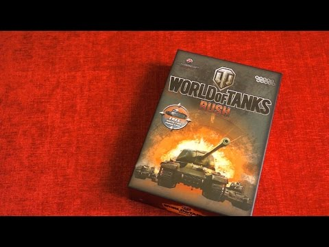 World of Tanks Card Game Video Review