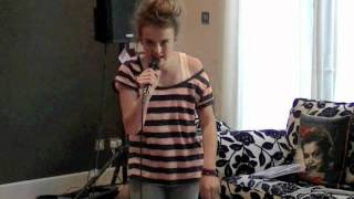 12 YEAR OLD TALLIA STORM - covers 'If Nobody Sang Along' by Chrisette Michele rehearsal