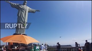 Brazil: Christ The Redeemer Mass Service Pays Tribute To COVID Victims