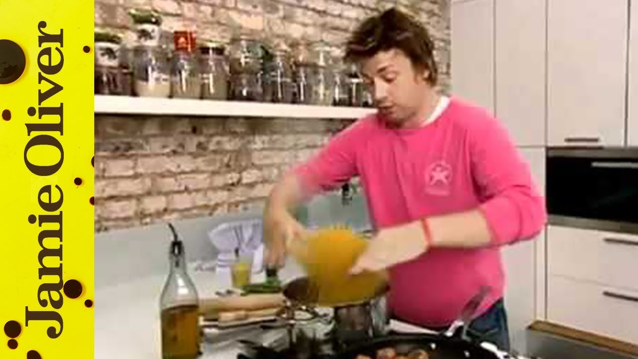 Jamie Oliver's meatballs and pasta –  Ministry of Food
