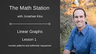 Linear Graphs Lesson 1 - Arithmetic Sequences