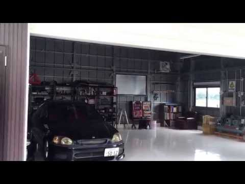 夢を叶えたマイガレージ完成 見せます。my garage show will complete the dream come true