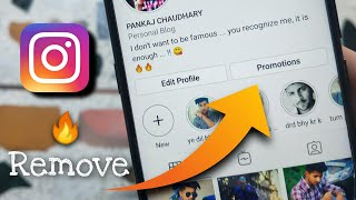 How to Remove Promote Option in Instagram   Remove Promotion on Instagram 2020