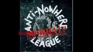 Anti-Nowhere League - Head in the Wall