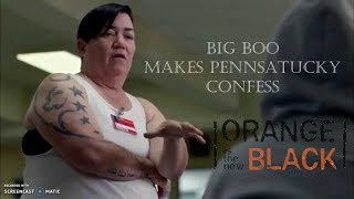 Big Boo Makes Pennsatucky Confess   OITNB S03E11