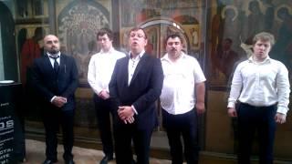 Пение в Соборе Св. Василия Блаженного - Москва