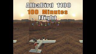 Finwing Albabird FPV 100 Minutes flight Testing 18650 4S3P