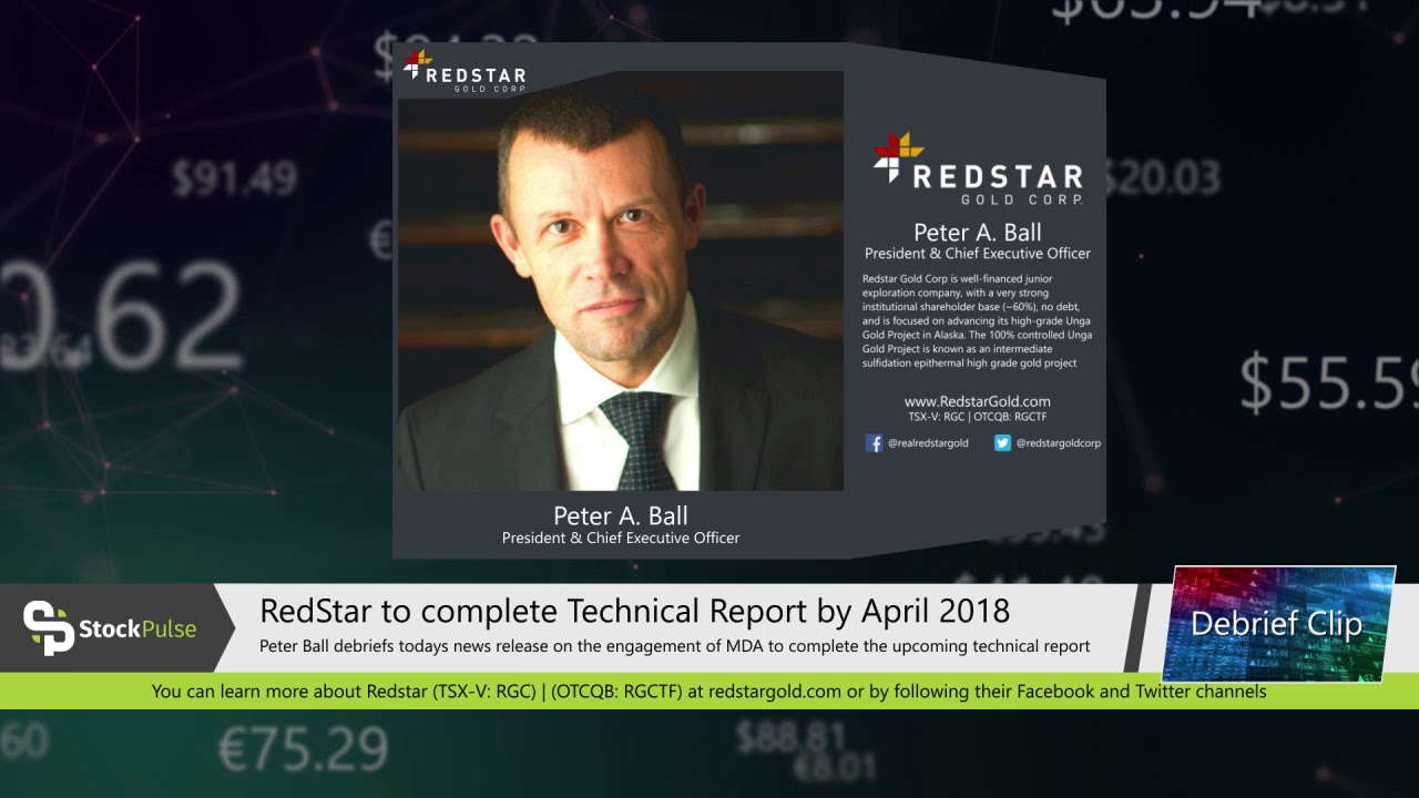 RedStar to complete Technical Report by April 2018