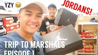 Trip to Marshals #1| Jordans, Fake Yeezys, RL POLO!? | LegitLooksForLife
