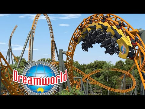 Dreamworld Australia 2020 NEW Mack Rides Roller Coaster!