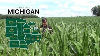 2016 U.S. Corn Belt Crop Tour - Michigan State Video