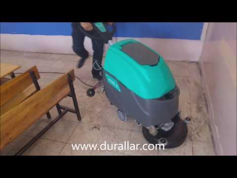 Powerwash HYC45 Kablolu Okul Zemin Temizlik Makinası