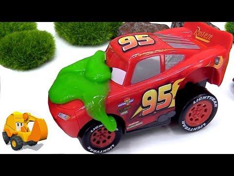 Carritos para niños - El coche de carreras sabotea la gasolina