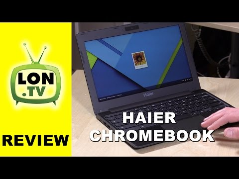 Haier Chromebook 11 Review - $150 11 inch Chromebook with new Rockchip RK3288 processor
