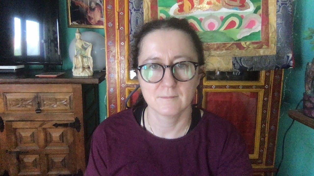 Lama Gangchen Tantric Self-Healing 2- Commentary by Lama Caroline - part 69 (EN)  Akshobhya