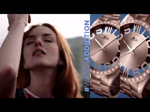 LOTUS Armbanduhren Werbevideo Damenuhren