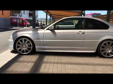 BMW 330ci on m3 wheels