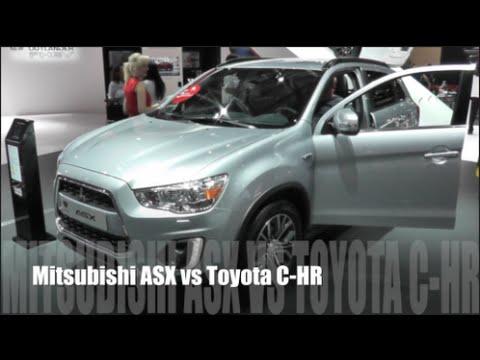Mitsubishi  Asx Паркетник класса J - тест-драйв 6
