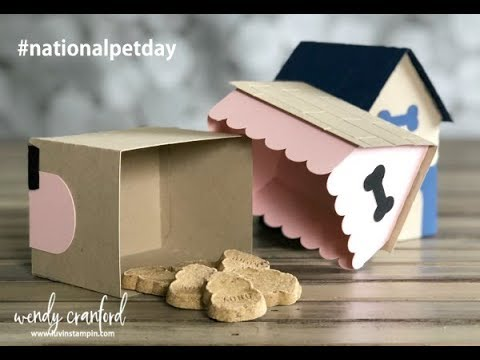 Dog House Treat Boxes feat. Cameo Silhouette