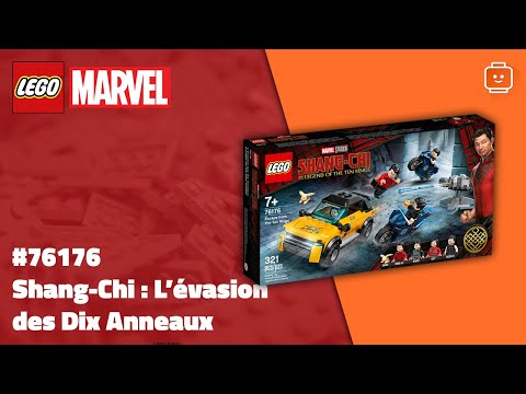 Vidéo LEGO Marvel 76176 : Shang-Chi : L'évasion des Dix Anneaux