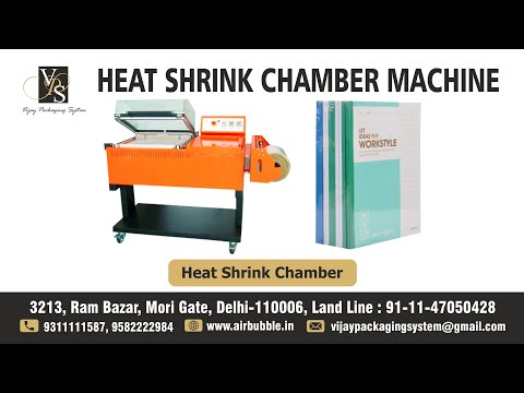 Heat Shrink Chamber Shrink Wrap Packaging Machine