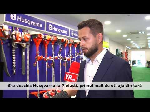 S-a deschis Husqvarna la Ploiești, primul mall de utilaje din țară