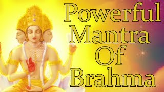 OM BRAHMANE NAMAHA - ( BRAHMA MANTRA ) Powerful Mantra For Knowledge - 1008 Repetitions