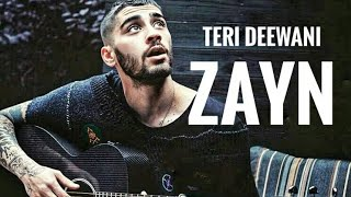 Zayn malik| Teri Deewani (kailash kher) |Singing Bollywood  Song | via IG video