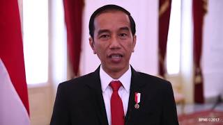 Keynote address from the President of the Republic of Indonesia, Joko Widodo