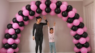 How To Make Balloon Arch Without Stand?