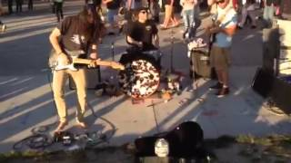 Venice philharmonic orchestra- sunset jam with Andy Kravitz on drums, Michael Jost on guitar and Ha