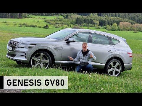 Erste große Fahrt im NEUEN 2021 Genesis GV80 - Review, Fahrbericht, Test