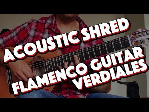 Ben Woods 'Verdiales al Aire' Flamenco, Flametal Guitar