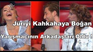 O Ses Türkiye | Yasir | Arkadaşları Stüdyoyu Kırdı Geçirdi !