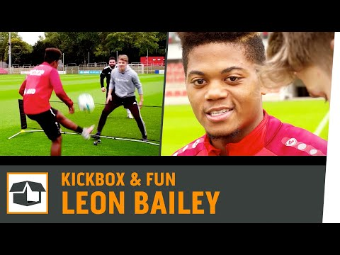 Fussball-Tennis Challenge vs. Leon Bailey | Bayer04 Leverkusen |Fun-Challenge |Kickbox