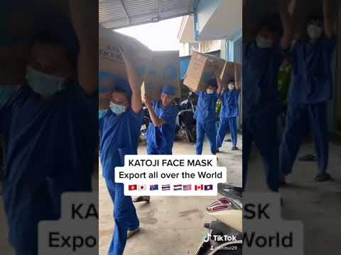 KATOJI masks join hands to fight pandemic the Christmas 2020 season