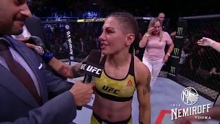 UFC 237: Jessica Andrade and Rose Namajunas Octagon Interview