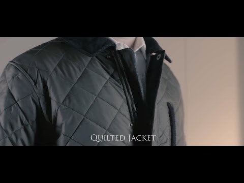 Quilted Jacket in Olive from Samuel Windsor