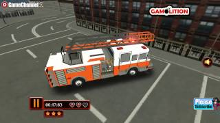 Fire Fighting Frenzy Park, Drive Your Amazing Fire Fighter Truck, Videos Games for Children