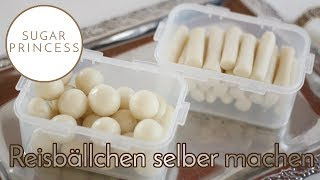 Koreanischer Reiskuchen/Reismehl homemade/Korean rice cake (Garaetteok) | Sugarprincess