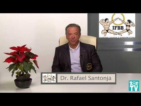 Rafael Santonja. IFBB President. Merry Christmas